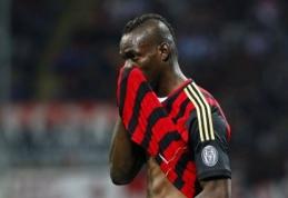 """M.Balotelli ateitis """"Milan"""" klube - miglota"""