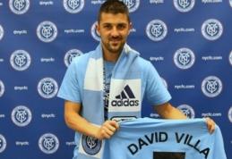 """Oficialu: """"New York City"""" įsigijo Ispanijos rinktinės puolėją D.Villa"""