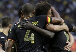 Draugiški mačai: Belgija nugalėjo Švediją, prancūzai ir vokiečiai neįveikė varžovų (VIDEO)