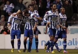"""""""Deportivo"""" klubas grįžta į """"Primera"""" pirmenybes"""