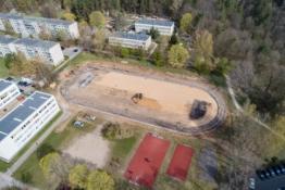 Vilniuje masiškai renovuojami mokyklų stadionai