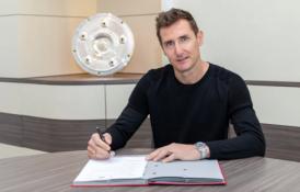 "Oficialu: M. Klose talkins H. Flickui ""Bayern"" klube"