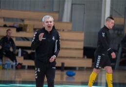 """Futsal rinktinės treneris: """"Potencialo turime, bet laukia neįtikėtinai daug darbo"""""""