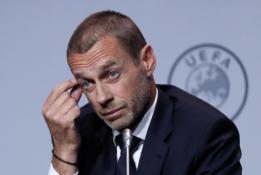 """A. Čeferinas: """"Nebūčiau prieš, jei """"Real"""", """"Juventus"""" ir """"Barcelona"""" paliktų Čempionų lygą"""""""