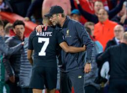 """W. Sagnol: """"Mbappe prie Kloppo galėtų tapti """"Liverpool"""" karaliumi"""""""