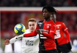 """""""Arsenal"""" jungiasi į kovą dėl """"Rennes"""" vunderkindo"""