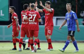 """""""Bayer"""" be didesnio vargo žengė į Vokietijos taurės finalą"""
