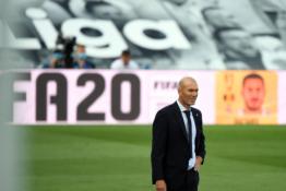 """Planus keisti turėjęs Z. Zidane'as neliko patenkintas """"Real"""" žaidimu antroje rungtynių pusėje"""