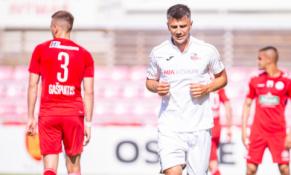 """M. Topčagičiaus """"hat-trickas"""" padovanojo pergalę """"Sūduvos"""" ekipai"""