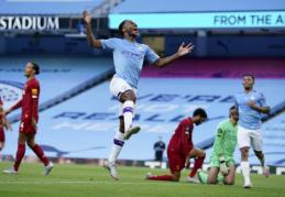 Naujieji Anglijos čempionai pažeminti Mančesteryje