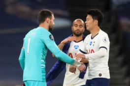 """Įvartis į savus vartus lėmė """"Tottenham"""" pergalę prieš """"Everton"""" ekipą"""