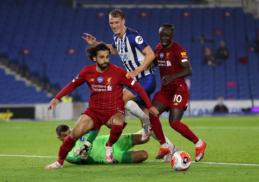 """Rekordo medžioklė tęsiasi: """"Liverpool"""" susitvarkė su """"Brighton"""""""