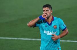 """Oficialu: L. Suarezas palieka """"Barcą"""" ir keliasi į """"Atletico"""""""