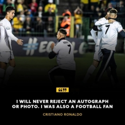 Šalia užsienyje publikuojamų C. Ronaldo citatų – lietuvis