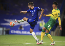 """""""Chelsea"""" minimaliu skirtumu palaužė """"Norwich"""" ekipą"""