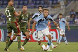 """""""Lazio"""" sugrįžo į pergalių kelią"""