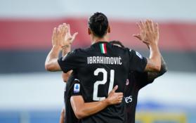 """""""Serie A"""": Z. Ibrahimovičiaus įvarčiai padėjo """"AC Milan"""" iškovoti dar vieną pergalę"""