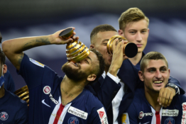 PSG - Prancūzijos lygos taurės čempionai