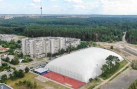 Vilniaus Pilaitės rajone atidarytas išskirtinis futbolo maniežas