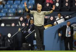 """P. Guardiola: """"Esame čia tam, kad kovotume dėl Čempionų lygos trofėjaus"""""""