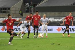 """EL: """"Man Utd"""" tik po pratęsimo žengė į pusfinalį, """"Inter"""" eliminavo """"Bayer"""" ekipą"""