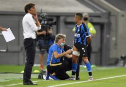 A. Sanchezas gali praleisti Europos lygos pusfinalį