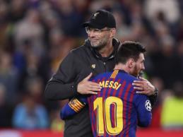 """J. Kloppas: """"Man ir pačiam būtų įdomu pamatyti Messi kitoje komandoje"""""""