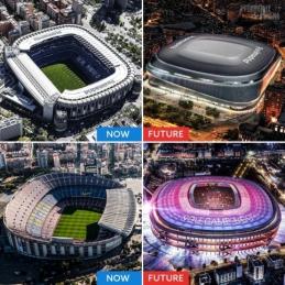 Pasikeisiantys grandų stadionai