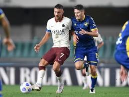"""""""Serie A"""": """"Roma"""" nesugebėjo palaužti """"Verona"""" futbolininkų"""