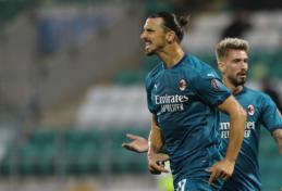 """Į pirmąją pergalę """"AC Milan"""" ekipą vedė Z. Ibrahimovičius"""