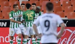 """""""Real Betis"""" palaužė """"Valencia"""", """"Atletico"""" ir """"Villarreal"""" išsiskyrė taikiai"""