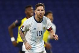 Pasaulio čempionato atrankoje – pergalingas Argentinos ir Urugvajaus startas