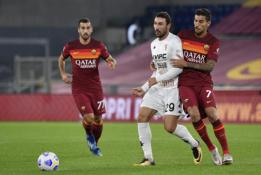 """""""Serie A"""": """"AS Roma"""" pasiekė nesunkią pergalę"""