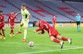 """ČL: """"Bayern"""" nepasigailėjo Madrido """"Atletico"""""""