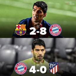 Skaudūs du paskutiniai L. Suarezo mačai Čempionų lygoje