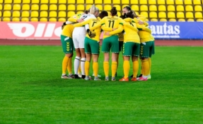 Europos moterų čempionato atrankos rungtynės bus žaidžiamos be žiūrovų