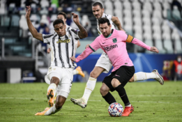 """Barcelona"" ""patrolino"" ""Juventus"", italai neliko skolingi"