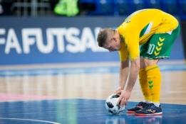 Salės futbolo rinktinė laikys du kontrolinius testus Nyderlanduose