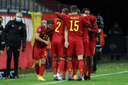 Belgai paliko anglus už Tautų lygos pusfinalio borto