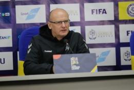 """V. Urbonas: """"Kazachstanas pasitiko šaltu oru, bet rytoj laukia karštos rungtynės"""""""