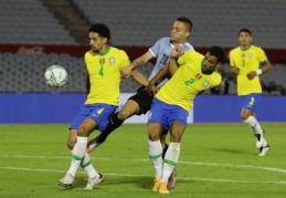 Brazilija ir Argentina vienodais rezultatais įveikė varžovus