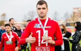 """""""Panevėžio"""" puolėjas sezono finiše išsiskyrė tarp jaunimo"""