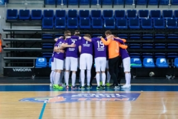 """""""Vikingų"""" naujokų įvarčiai apkartino """"Radviliškio"""" sezono pradžią"""