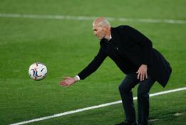 """Z. Zidane'as po fiasko prieš """"Alaves"""": neturiu paaiškinimo"""