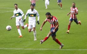 """L. Suarezas atvedė """"Atletico"""" į dar vieną pergalę Ispanijoje"""