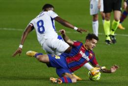 "Be L. Messi rungtyniavusi ""Barcelona"" nesugebėjo palaužti ""Eibar"""