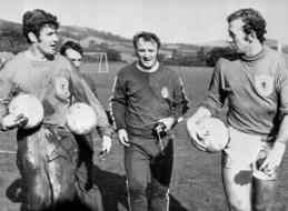 """Mirė buvęs """"Manchester United"""" ir Škotijos treneris T. Docherty"""