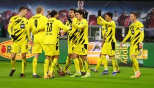 """""""Borussia"""" nesunkiai susitvarkė su """"Leipzig"""""""
