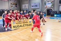 """""""Kauno Žalgirio"""" futsal komandos vadovas – apie dramą finale ir žygį Europoje"""