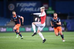 """Penkių įvarčių dramoje - """"Monaco"""" pergalė prieš """"Montpellier"""""""